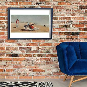 Winslow Homer - East Hampton Beach Long Island Poster Print Giclee