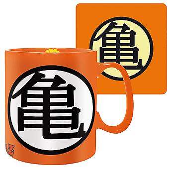 Dragon Ball Z Goku Symbol Mug and Coaster Set