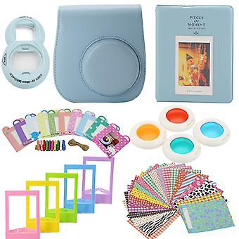 Accessory Sets for Fujifilm Instax Mini 8/9-light blue