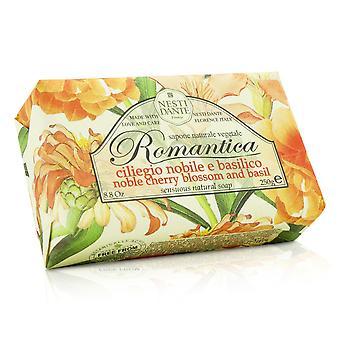 Sabão natural sensual romântico nobre flor de cerejeira e manjericão 208642 250g/8.8oz