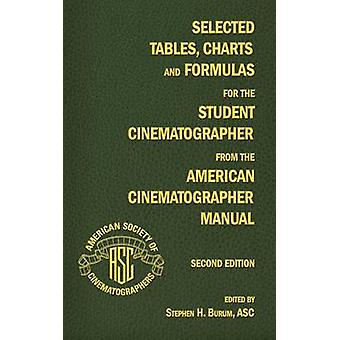 Selected Tables Charts and Formulas for the Student Cinematographer from the American Cinematographer Manual Second Edition by Burum & Stephen H.