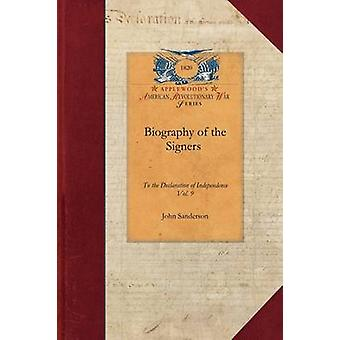 Biography of the Signers by John Sanderson
