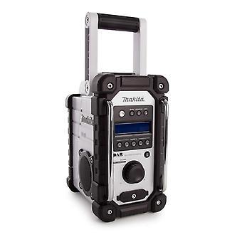 Makita DMR109 DAB Radio Blanc