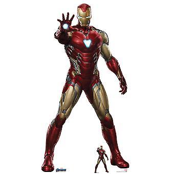 Iron Man uit Marvel Avengers: Endgame Officiële Lifesize Kartonnen Cutout / Standee