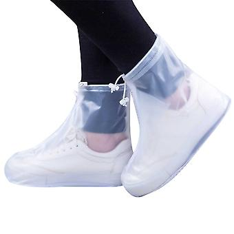 Adult rain boot shoe cover PVC middle tube adult rain boots cover