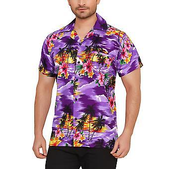 Club cubana men's regular fit classic short sleeve casual shirt cdkupb851