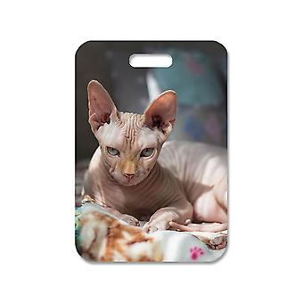 Cat Sphynx Large Bag Pendant