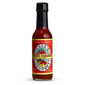 Dave-apos;s Gourmet Hurtin-apos; Sauce chaude Habanero