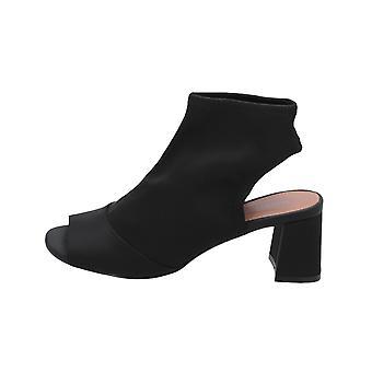 Topshop DISCO STRETCH Women's Sandals Black Flip-Flops Summer Shoes