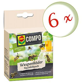 Sparset: 6 x COMPO Wasp Feller Agn Refill Pack, 3 Stk.