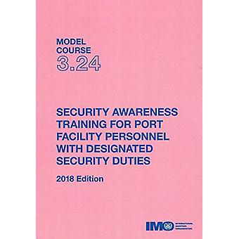 Security awareness training for port facility personnel with designat