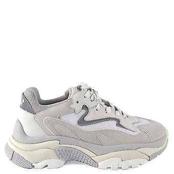 Ash ADDICT BIS Pearl Grey Suede & White Leather