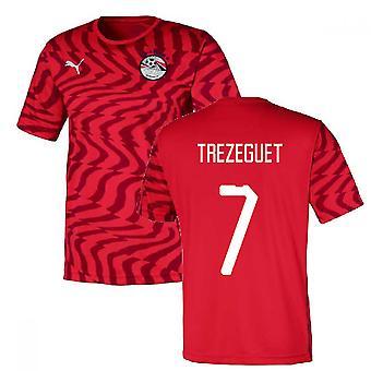2019-2020 Egypt Home Puma Football Shirt (Trezeguet 7)
