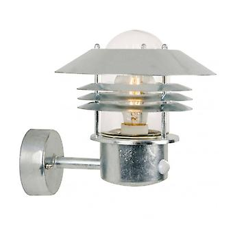 Veje Galvanized Steel Patio Wall Light 23 Cm
