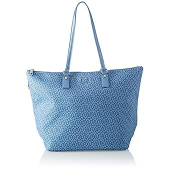YNOT Gu1019/pe18 Blue Women's shoulder bag (Jeans) 17x31x46 cm (W x H x L)