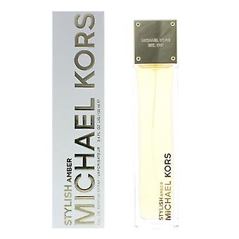 Michael Kors Stylish Amber Eau de Parfum 100ml Spray For Her