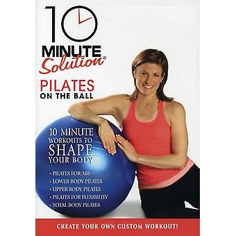 10 minuten lösning - Pilates på bollen [DVD] USA import