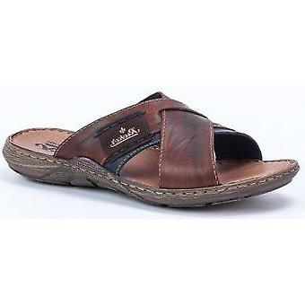 Rieker tabak bruine sandalen mens bruin 001