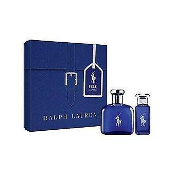 Ralph lauren polo modrá darčeková sada 75ml edt + 30ml edt