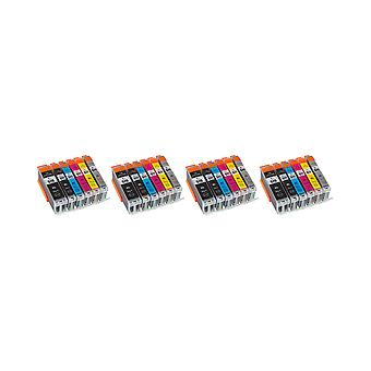 RudyTwos 4x Replacement for Canon PGI-570XL CLI-571XL Set Ink Unit Black Cyan Magenta Yellow Light Cyan & Light Magenta Compatible with Pixma MG5700, MG5750, MG5751, MG5752, MG5753, MG6800, MG6850, MG