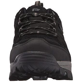 Propét Mens Ridge Walker Leather Low Top Lace Up Walking Shoes