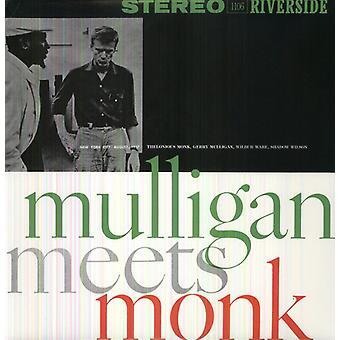 Gerry Mulligan & Thelonious Monk - Mulligan möter munken [Vinyl] USA import