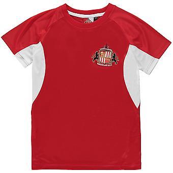 Source Lab Sunderland AFC Poly T-Shirt Junior Boys