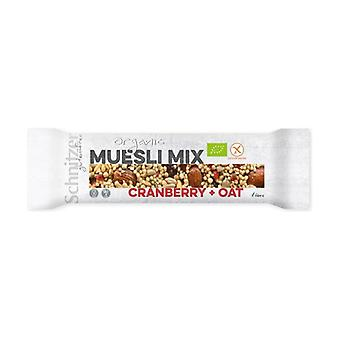 Gluten free hazelnut and cranberry bar 40 g