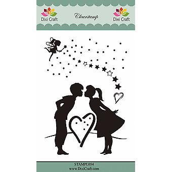 Dixi Craft Fairy & Love Clear Stamp