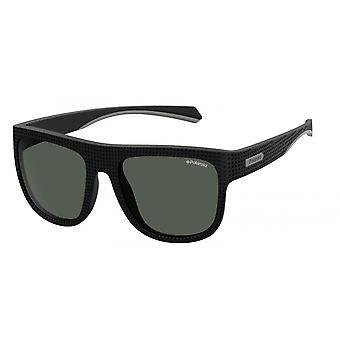 Sonnenbrille Herren   7023/S807/M9  Herren  schwarz mit grauem Glas
