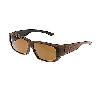 Sunglasses Unisex brown with brown lens Vz0009rb