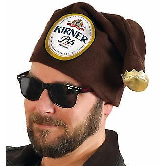 Beanie Kirner bier bierfles bruine buis (rekbaar)