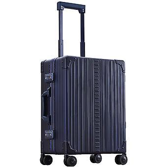 """ALEON Domestic Carry-On Hand Luggage Trolley 21"""" 4 Ruedas, 40 cm, 36.2 L, Azul"""