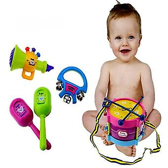 Musical Instruments Band Kits For Kids - Early Educational Toy Grasp Hand Bell Music Toy