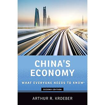 Chinas Economy by Kroeber & Arthur R. Founding partner and managing director of Gavekal Dragonomics