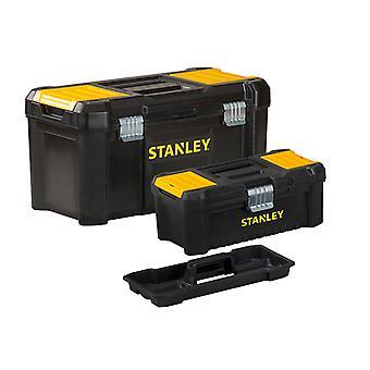 """Stanley Tools Essential Toolbox Bonus Pack 32cm (12.1/2"""") & 48cm (19"""") STA175772"""