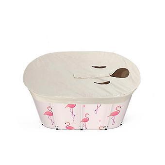 Folding bathtub portable adult household spa bath bucket barrel