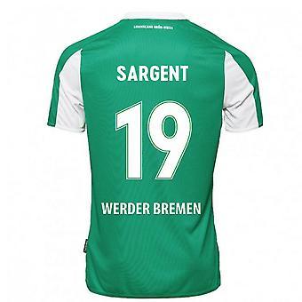2020-2021 Werder Bremen Camiseta de casa (SARGENT 19)