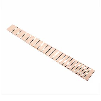 22 Fret Guitar Partial Solid Maple Slotted Fretboard