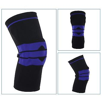 1pcs S-5xl Large Size Runing Hiking Nylon Silicon Padded Knee Pads