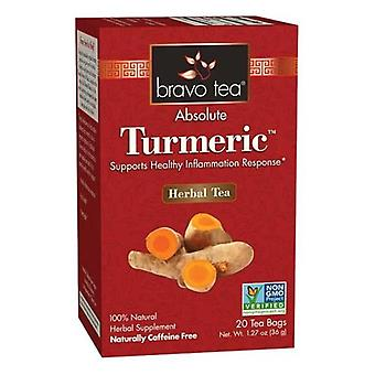 Bravo Tea & Herbs Absolute Tumeric Tea, 20 bags