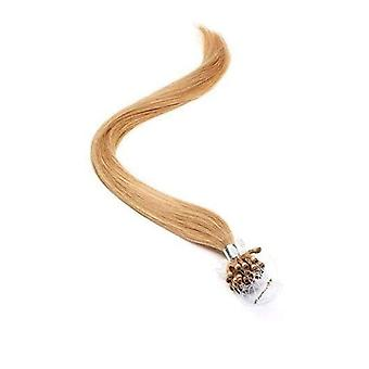 American Pride Micro Ring Human Hair Extension 18 Inch - Bronze Blonde