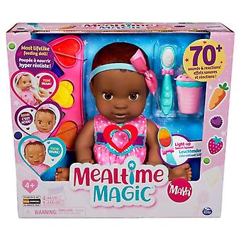 Mealtime Magic Maya Interactive Feeding Baby Doll