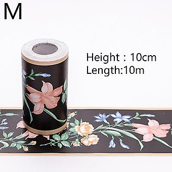 10m Waterproof Home Decor Waistline Wall Sticker For Bathroom Kitchen Room Self