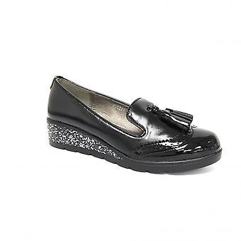 Lunar Hallett Brogue lav kile sko
