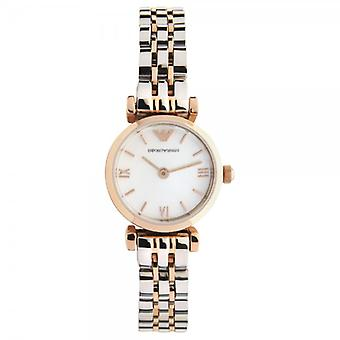 Armani Ar1689 Ladies Rose Gold rustfritt stål klokke