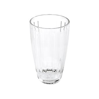 What More Roma Tumbler Large Clear Acrylic 20560