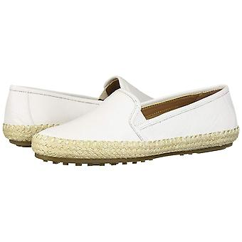 Aerosoles Women's Lets Driving Style Loafer, White Leather, 5 M US