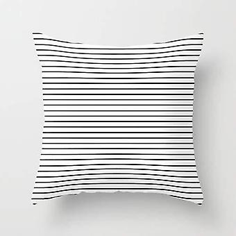 Double Side Minimal Stripes Printed Pillow