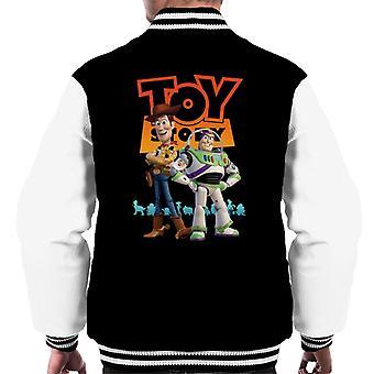 Pixar Toy Story Buzz And Woody Men's Varsity Jacket